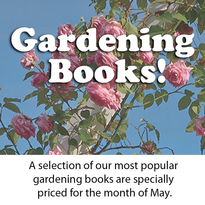 Gardening books mobile banner