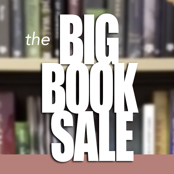 the Big Book Sale Banner