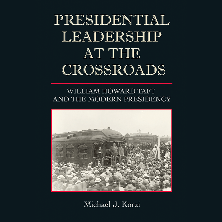 Promotional image for Presidential Leadership at the Crossroads