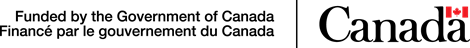 Funded by the government of canada logo