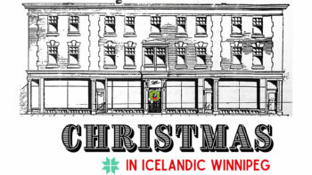 Christmas in Icelandic Winnipeg, 1920