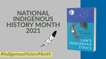 National Indigenous History Month – John Borrows