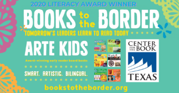 Arte Kids Wins Texas Center for the Book Literacy Award