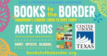 Arte Kids Wins Texas Center for the Book Literacy Award