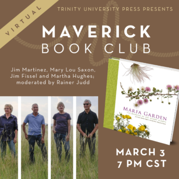 Maverick Book Club – Marfa Garden