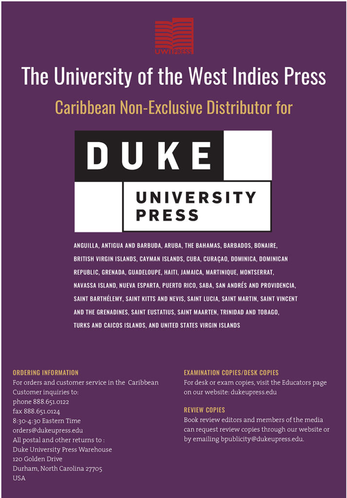 Distributor for Duke University Press