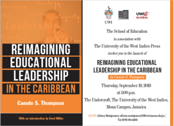 Reimagining Educational Leadership in the Caribbean by Canute S. Thompson