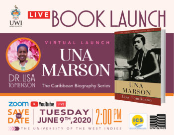 The University of the West Indies Press | Virtual Launch Una Marson by Lisa Tomlinson