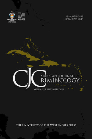Call for Article Submissions- Caribbean Journal of Criminology