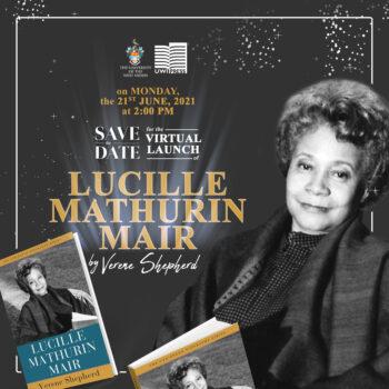 Virtual Launch Lucille Mathurin Mair by Verene Shepherd