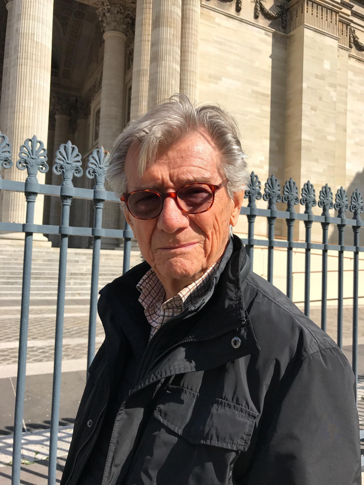 Gerald Vizenor in Paris