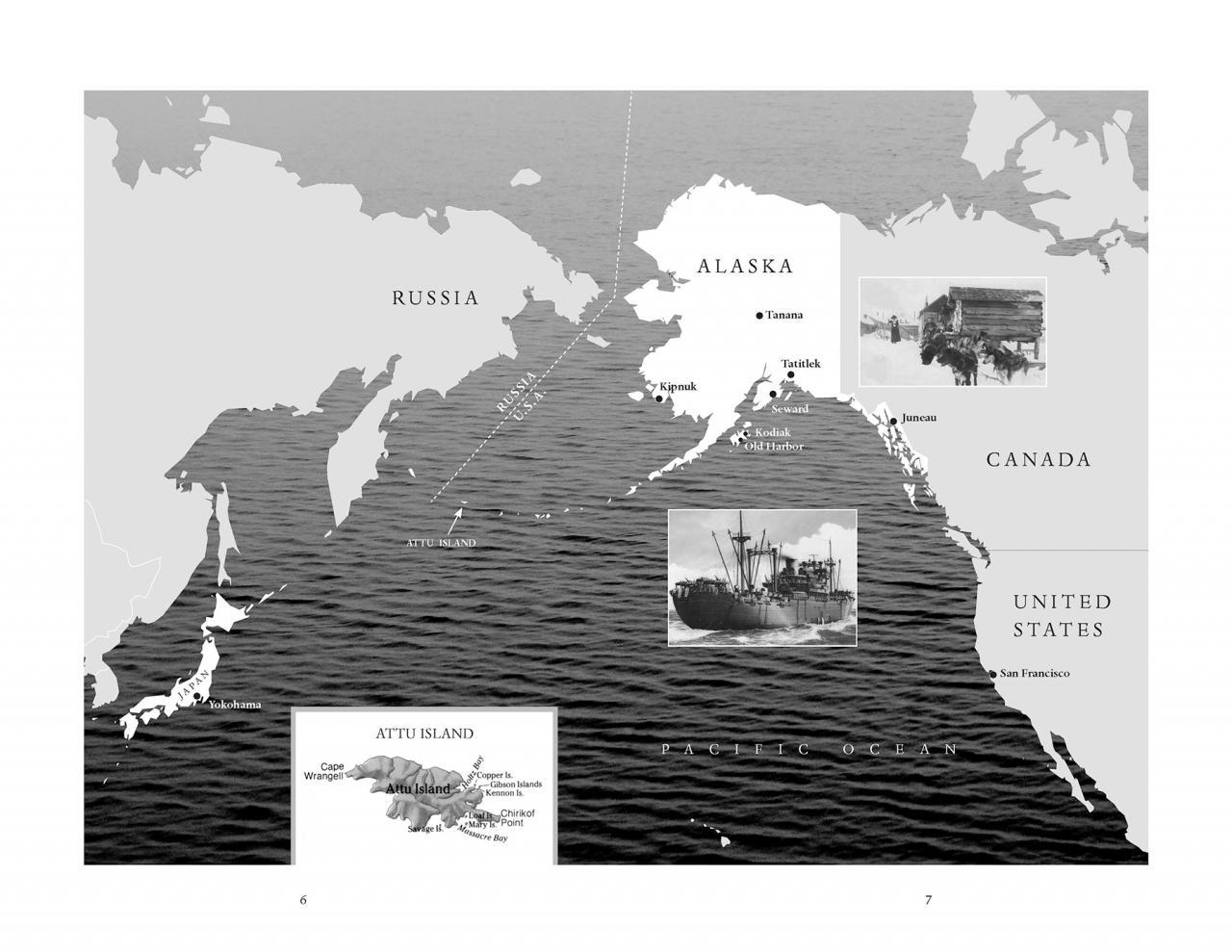 Attu Map