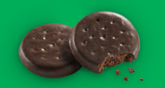 Girl Scout Cookie: Thin mints