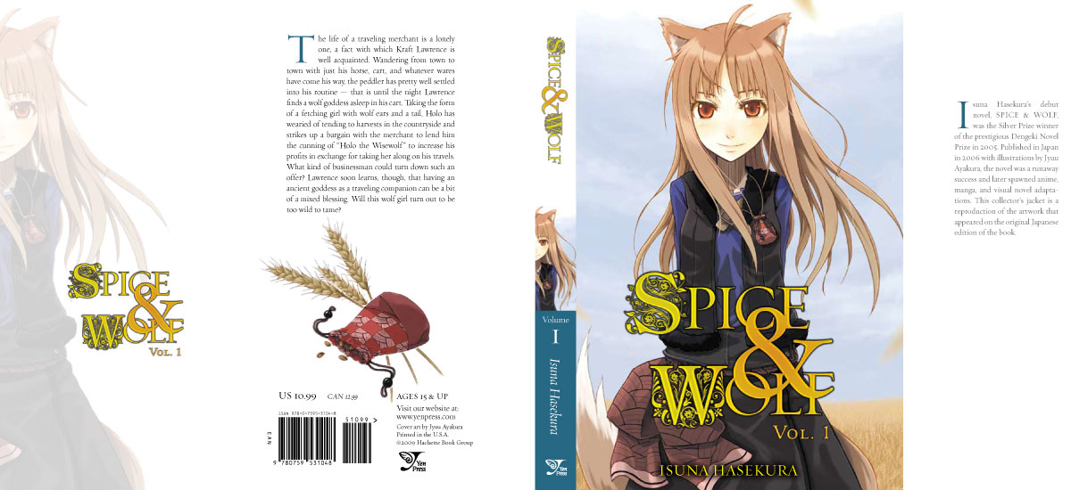 Spice and Wolf -- The Solution!! | Yen Press