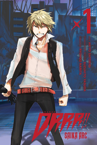 DURARARA!! Saika Arc volume 1