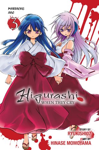 Higurashi WHEN THEY CRY Massacre Arc volume 3